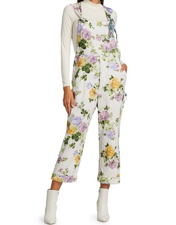 LOVESHACKFANCY Daffy Jumpsuit - Spring Garden