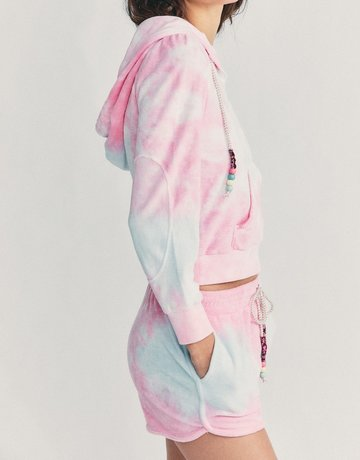 LOVESHACKFANCY Kirby hoodie - Cherry Fizz