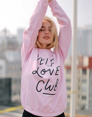 SHAKE YOUR BON BON Self Love Club Crewneck