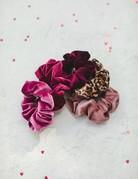 SHAKE YOUR BON BON Self Care Scrunchies ~ Velvet