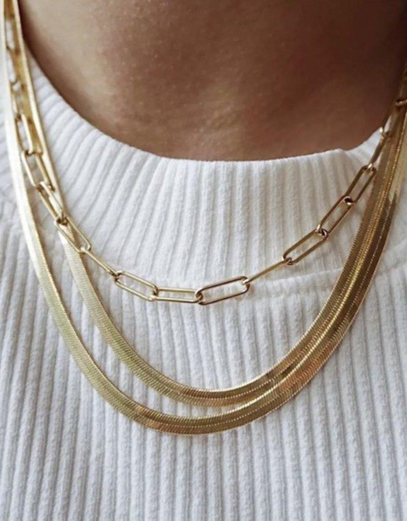 SHAKE YOUR BON BON Meet Me in Venice Chain Necklace