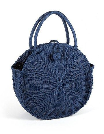 HAT ATTACK Cooper Round Bag- Navy