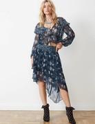 STEVIE MAY Florent Midi Skirt