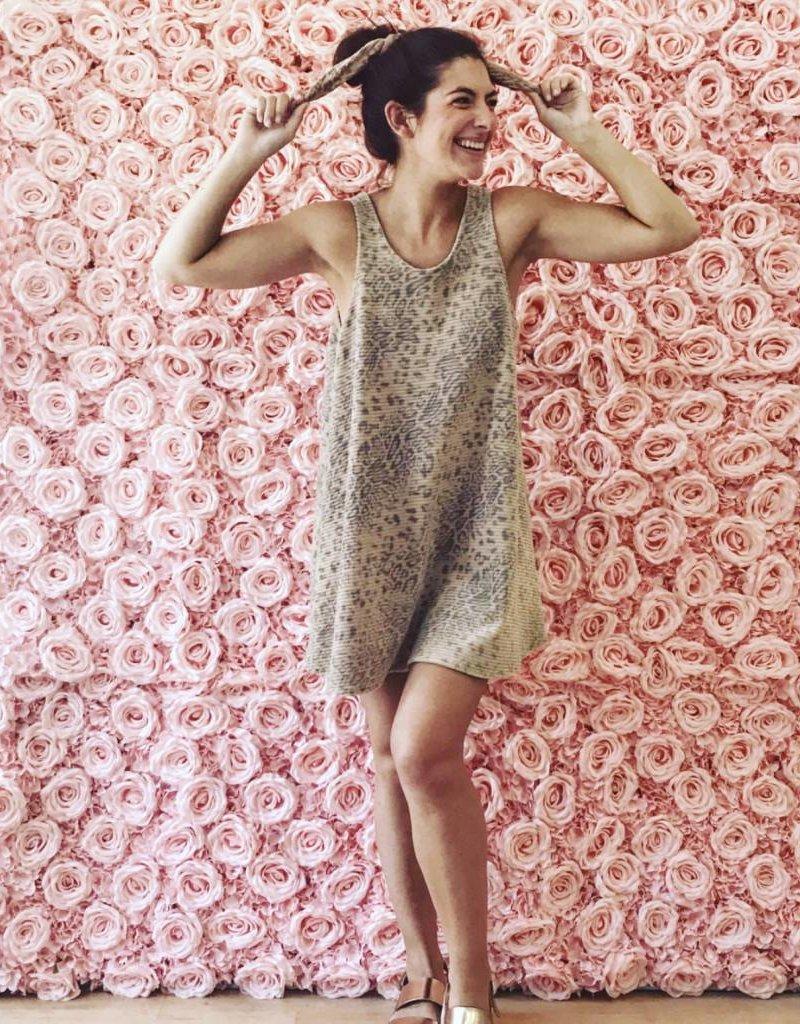 SHAKE YOUR BON BON BonBon Tunic Dress ~ Velvet Leopard