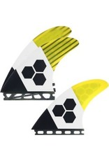 Channel Islands CI 1-tab RTM thruster  fins
