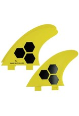 Channel Islands CI 2-tab FRP thruster thruster fins
