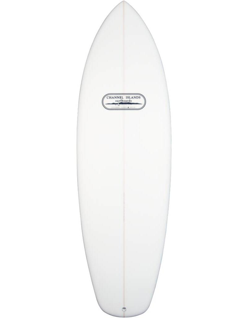Channel Islands CI mini gold surfboard