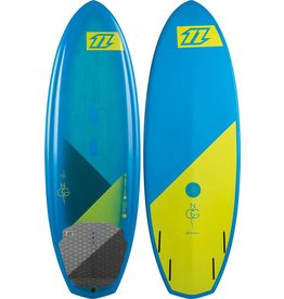 "North kiteboarding North 2015 5'5"" nugget kite surfboard"