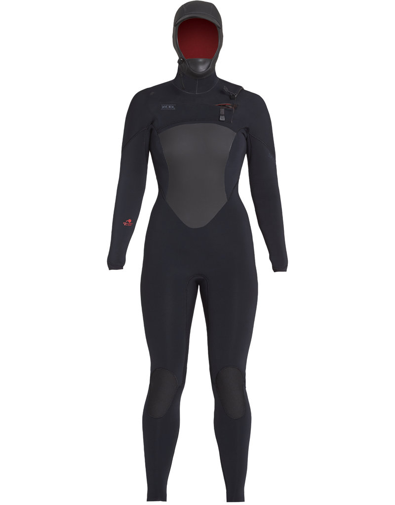 Xcel Drylock women's 5/4 hooded fullsuit