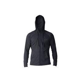 Xcel Men's heathered ventx front zip hoodie