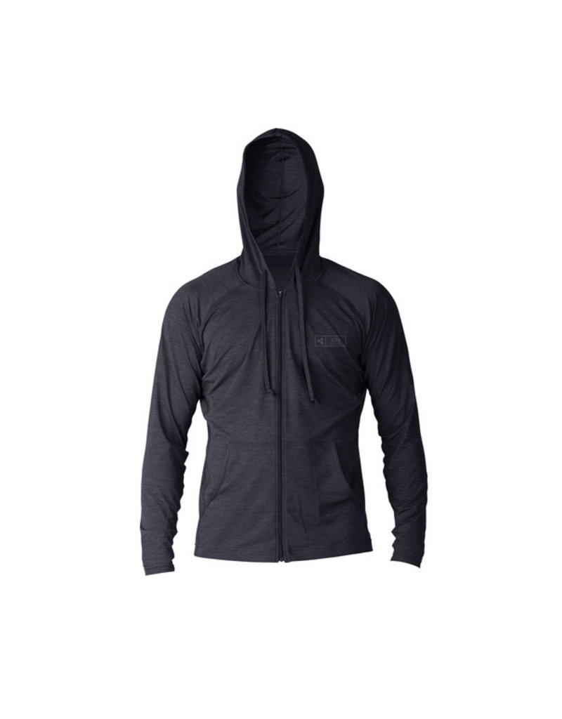 Xcel Men's heathered ventx front zip hoodie