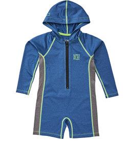Xcel toddler stretch ls fz hooded springsuit