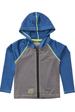 Xcel Toddler stretch front zip hoodie