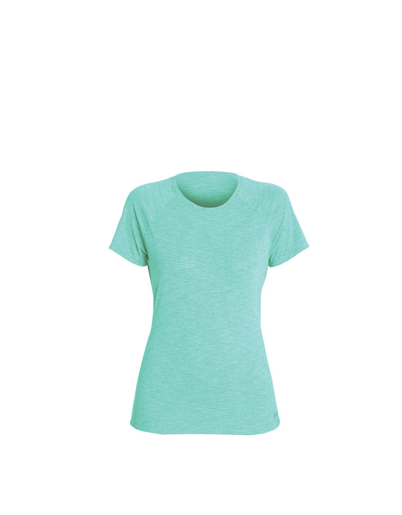 Xcel Women's heathered ventx solid s/s