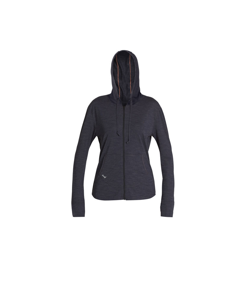 Xcel Women's heathered ventx fz hoodie