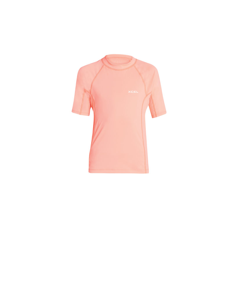 Xcel Girl's Stretch Color Block S/S