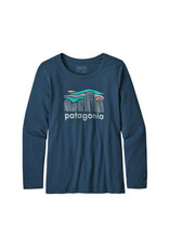 Patagonia Girls' L/S graphic organic T-shirt