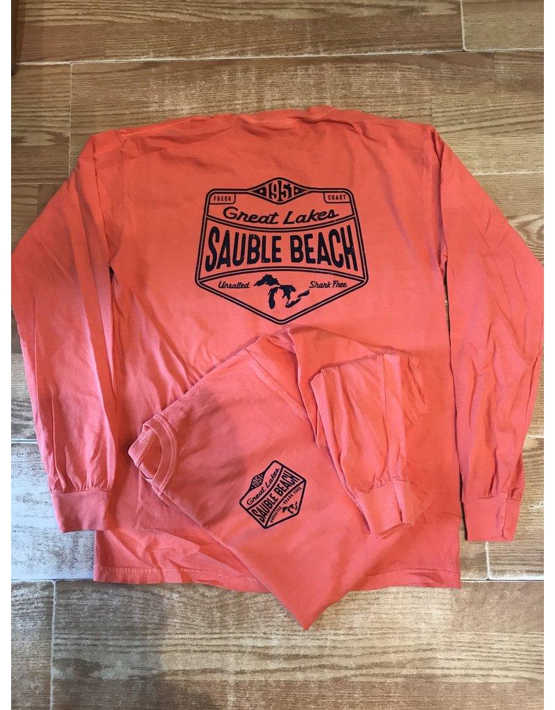 Sauble Beach SB Grooved ls tee
