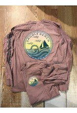 Sauble Beach wirery sailboat/waves ls t
