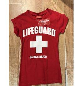 Lifeguard Cap sleeve tee