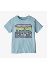 Patagonia Baby Fitz Roy Skies Cotton/Poly T