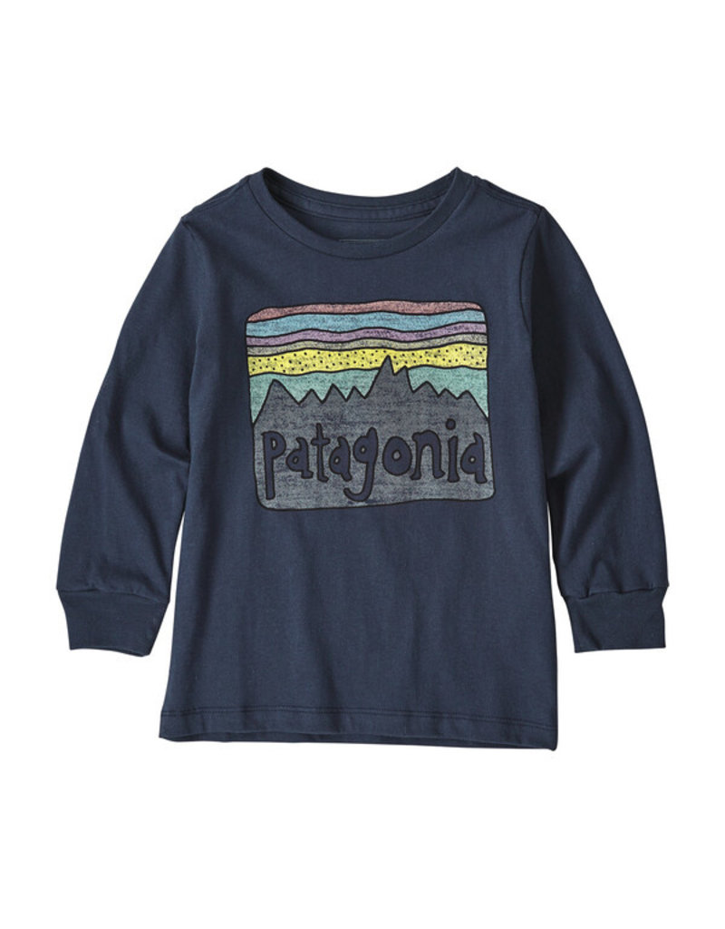 Patagonia Baby l/s graphic organic t