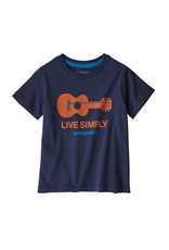 Patagonia Baby live simply organic T