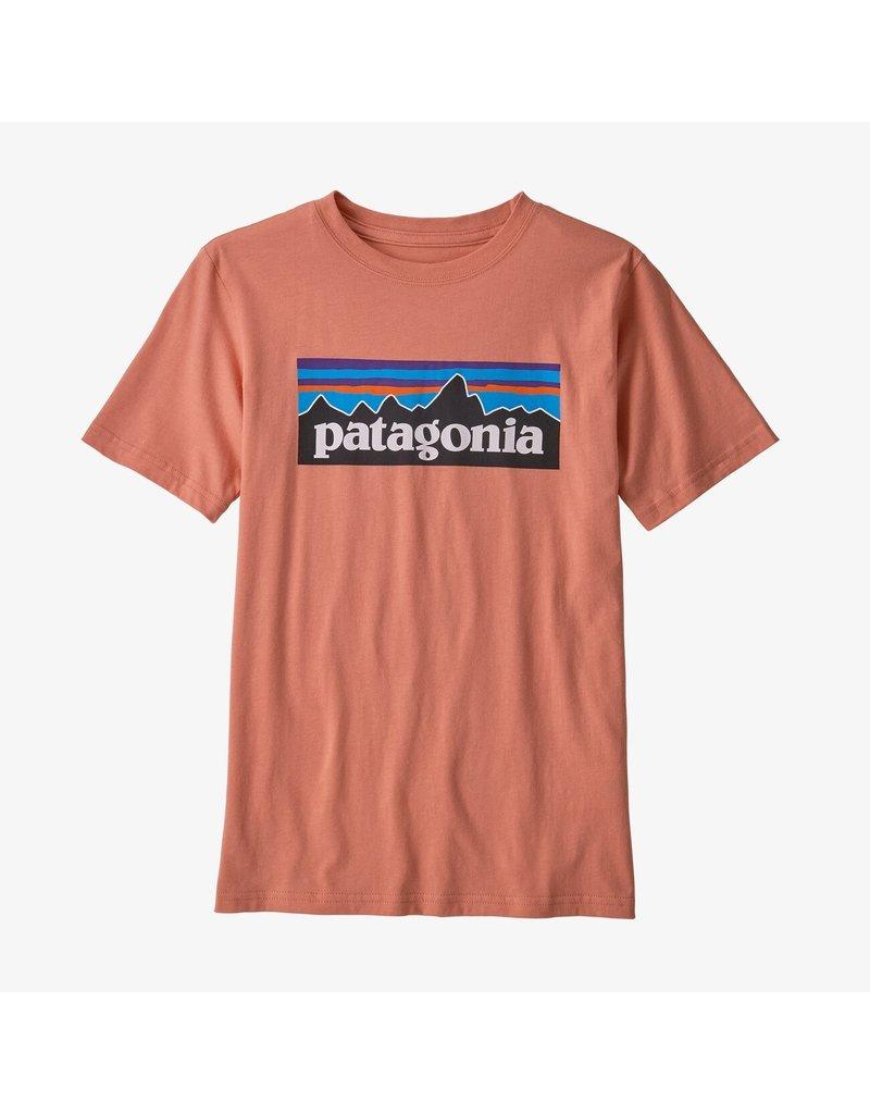 Patagonia Boys p-6 logo organic T