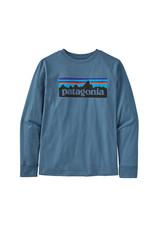 Patagonia Boys l/s p-6 organic t