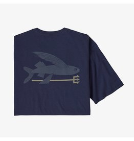 Patagonia Flying fish organic t