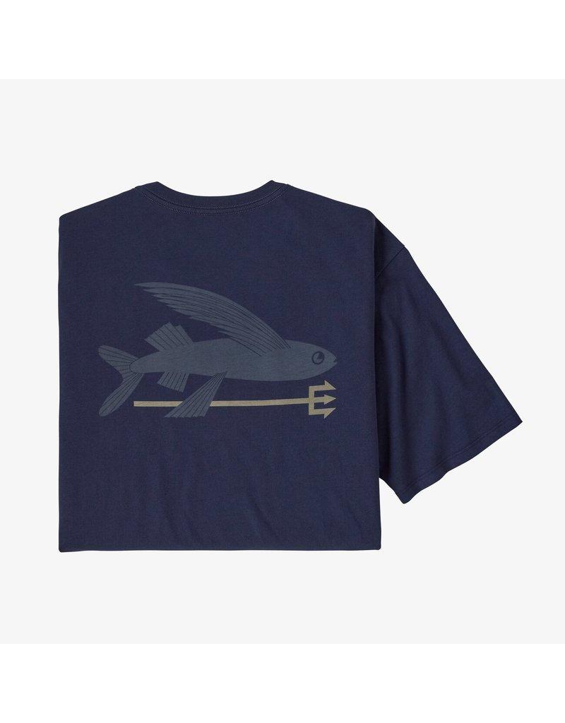 Patagonia Flying fish organic t