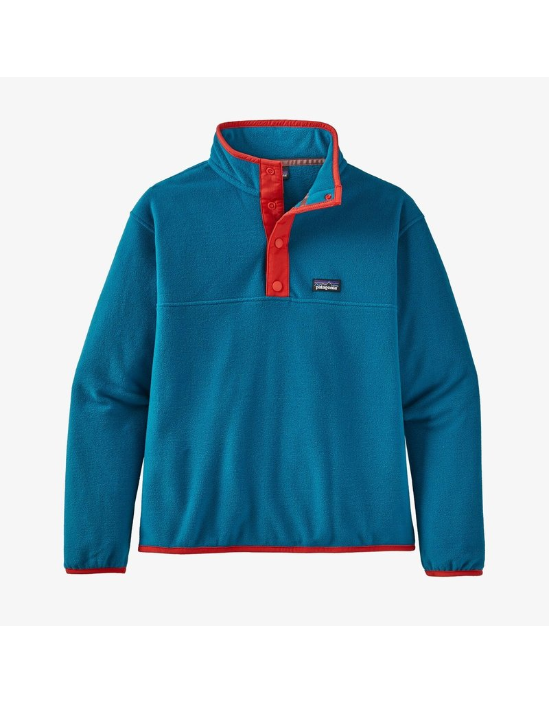 Patagonia Girls' micro D snap-t pullover