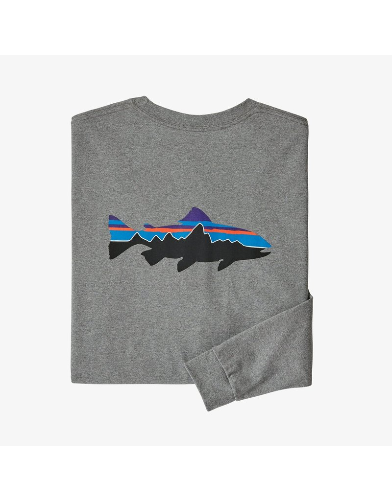 Patagonia L/S Fitz Roy Trout Responsibill-Tee