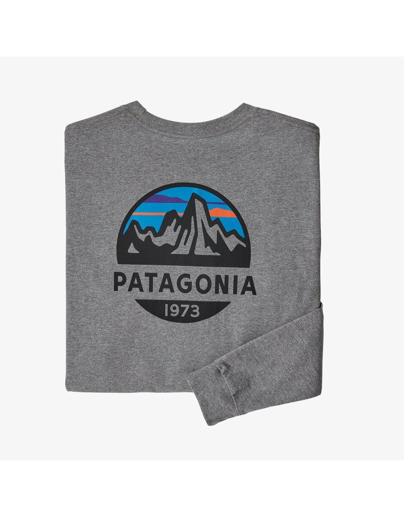 Patagonia M's L/S fitz Roy scope responsibili-Tee