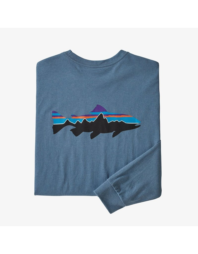Patagonia M's l/s fitz Roy trout