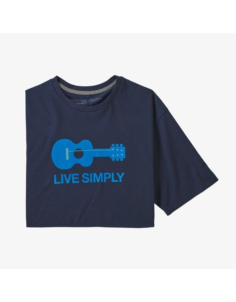 Patagonia M's live simply guitar responsibili tee