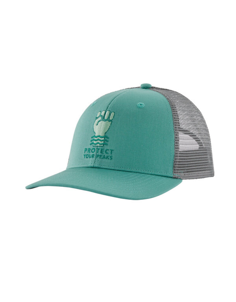 Patagonia Protect your peaks trucker hat
