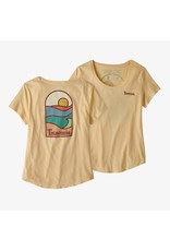 Patagonia W's sunset sets organic scoop t