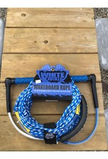 White knuckle white knuckle wake rope combo 75'