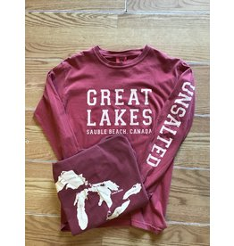 Sauble Beach Great Lakes comfort colours l/s
