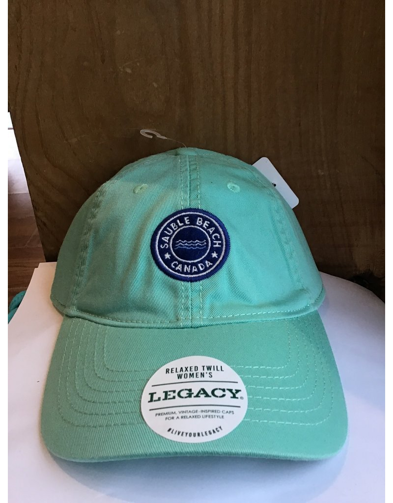 Sauble Beach SB wave cirptch hat