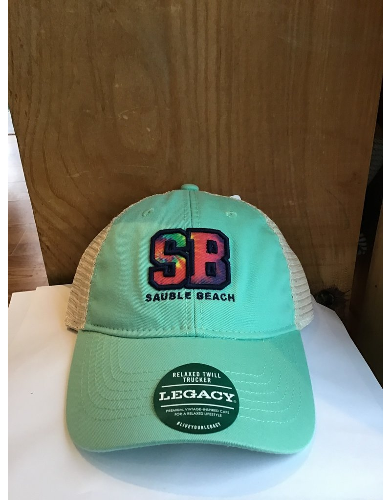 Sauble Beach SB tie dye SB hat