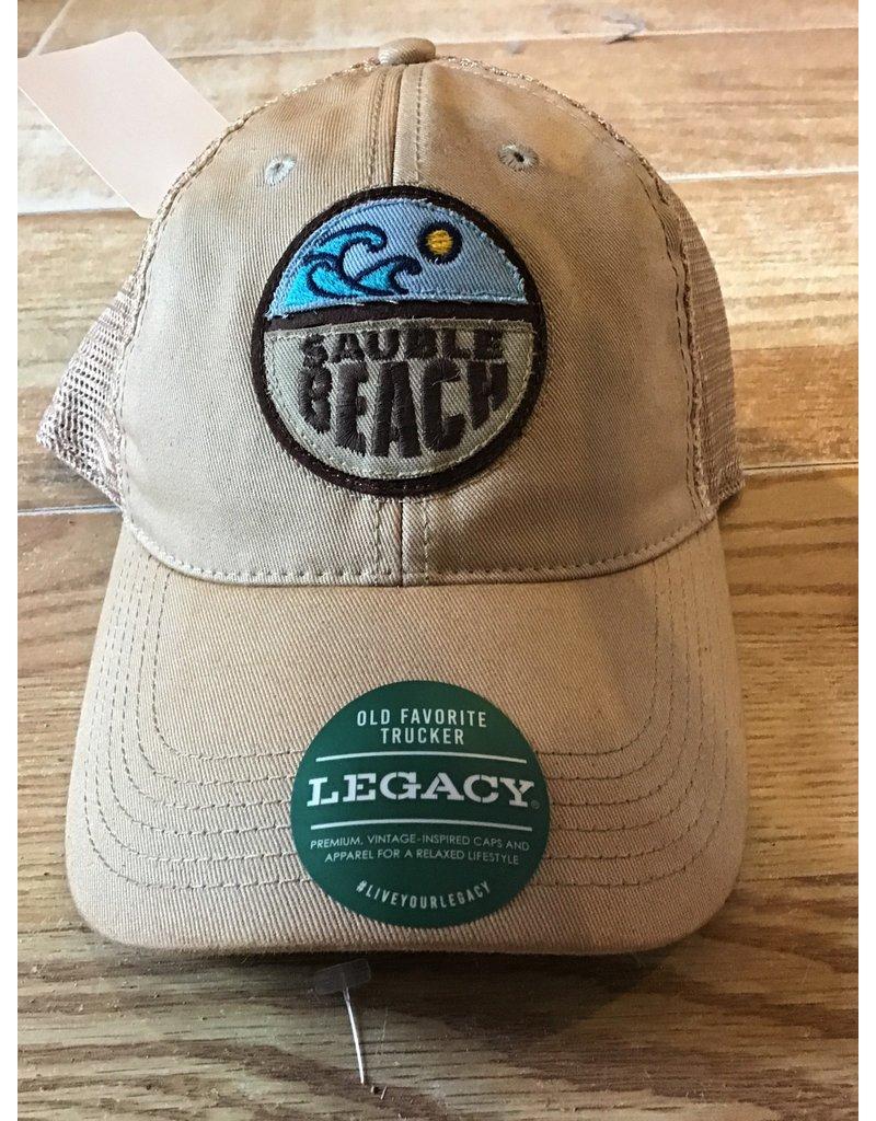 Sauble Beach SB split wave mesh hat