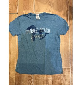 Sauble Beach SB comprehend snow tee