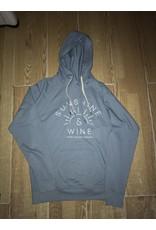 Sauble Beach sunshine and wine hoody