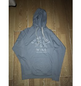 Sauble Beach sunshine and wine hoody