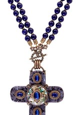 Patrice Labradorite Midnight Cross Necklace