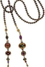 Patrice Multi-Jeweled Lariat Necklace