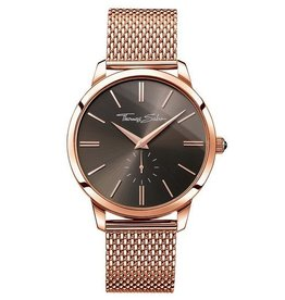 Thomas Sabo Stainless Steel Rose Gold Dial Anthracite Watch