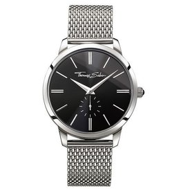 Thomas Sabo Black Face Stainless Steel Band Watch